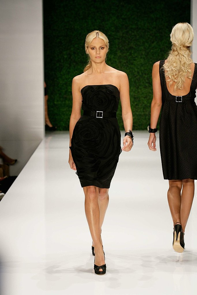 St. John Spring 09 Fashion Show Gallery | coutorture - :  fashion black coutorture 2009